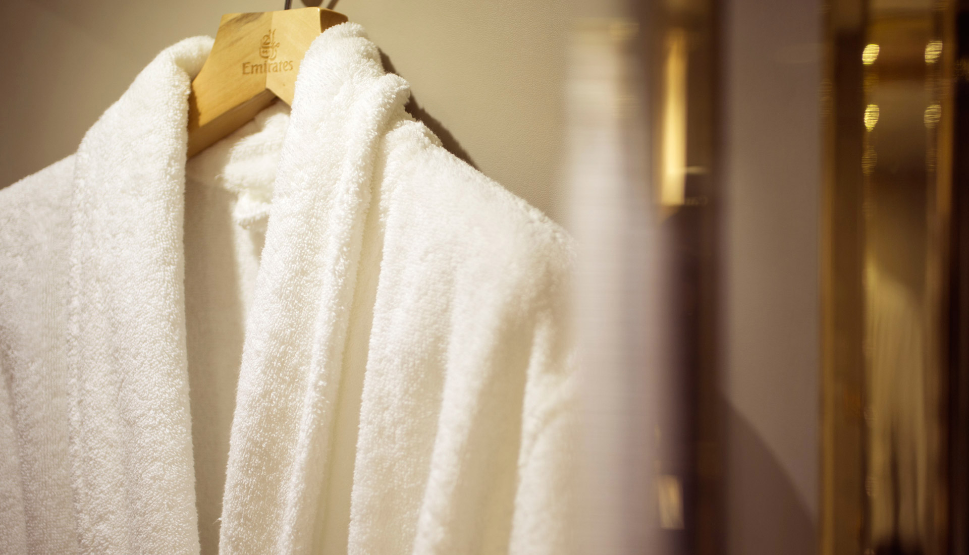 Soft bathrobes
