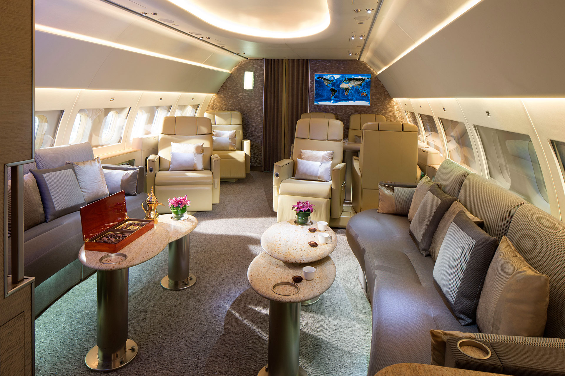 Emirates executive jet for First class 8 interieur